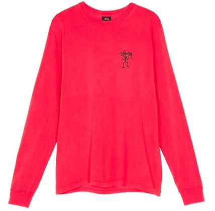 STUSSY Tシャツ・カットソー *国内完売アイテム*Stussy Warrior Man Pig. Dyed LS Tee FA19(8)