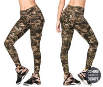 新作♪ズンバ Zumba Mix It Up Perfect Ankle Leggings -Seaweed