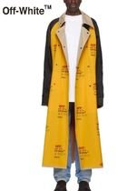 ☆Off-White 正規品☆Yellow Industrial Trench Coat コート