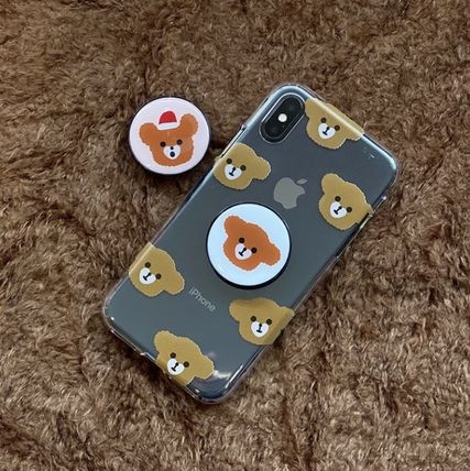 LOVE IS GIVING スマホケース・テックアクセサリー 韓国人気★ LOVE IS GIVING ★ friends jelly phone case 全2種(8)