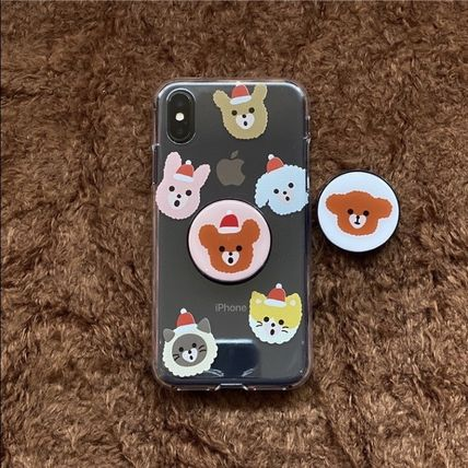 LOVE IS GIVING スマホケース・テックアクセサリー 韓国人気★ LOVE IS GIVING ★ friends jelly phone case 全2種(9)