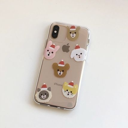 LOVE IS GIVING スマホケース・テックアクセサリー 韓国人気★ LOVE IS GIVING ★ friends jelly phone case 全2種(10)