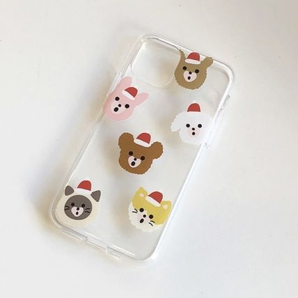 LOVE IS GIVING スマホケース・テックアクセサリー 韓国人気★ LOVE IS GIVING ★ friends jelly phone case 全2種(3)