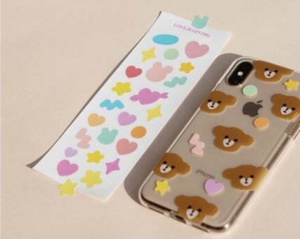 LOVE IS GIVING スマホケース・テックアクセサリー 韓国人気★ LOVE IS GIVING ★ friends jelly phone case 全2種(4)