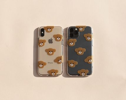 LOVE IS GIVING スマホケース・テックアクセサリー 韓国人気★ LOVE IS GIVING ★ friends jelly phone case 全2種