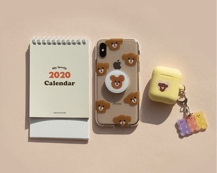 LOVE IS GIVING スマホケース・テックアクセサリー 韓国人気★ LOVE IS GIVING ★ friends jelly phone case 全2種(5)