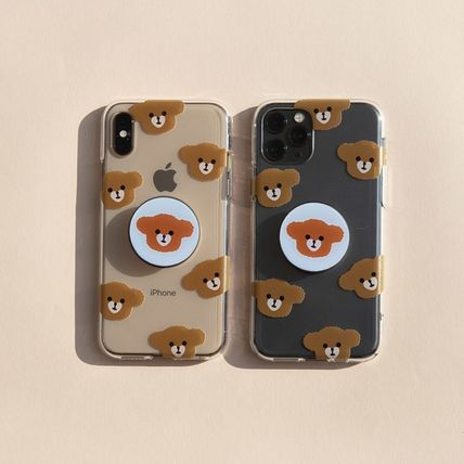 LOVE IS GIVING スマホケース・テックアクセサリー 韓国人気★ LOVE IS GIVING ★ friends jelly phone case 全2種(6)