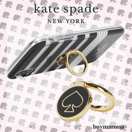 kate spade new york スマホケース・テックアクセサリー 【Kate Spade New York】スマホリング【iPhone・Android兼用】
