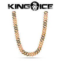 【King Ice】13mm Iced Patriot Chain