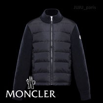 Moncler★2019AW★ダウンパネルジップアップトップ★4~6A