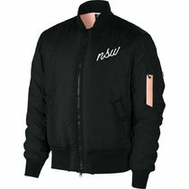 FW18 NIKE SYNTHETIC FILL BUMBER JACKET BLACK PINK MEN'S