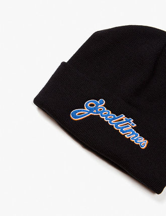 have a good time ニットキャップ・ビーニー have a good time GOOD TIMES BEANIE MH656 追跡付(3)