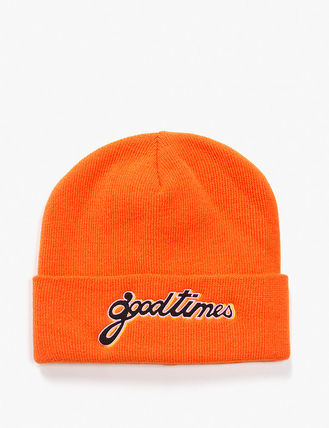 have a good time ニットキャップ・ビーニー have a good time GOOD TIMES BEANIE MH656 追跡付(6)