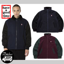 have a good time ZIP-UP WOOL STADIUM JACKET MH658 追跡付