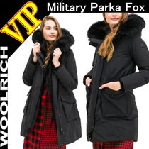 ◆◆VIP◆◆ WOOLRICH   W'S Military Parka Fox フード ダウン