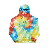ORDINARY PEOPLE(オーディナリーピープル) パーカー・フーディ ORDINARY PEOPLEのWE GOT YOUR BACK FRIEND TIE-DYE HOODIE