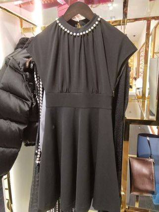 kate spade new york ワンピース Kate spade★パール パヴェ ドレス casual pearl pave dress(3)