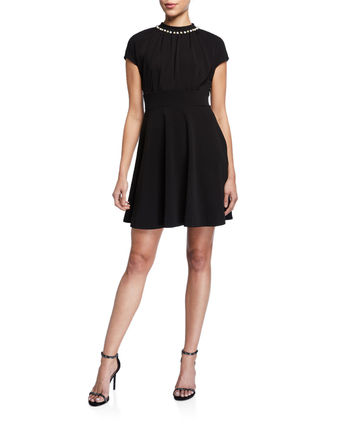 kate spade new york ワンピース Kate spade★パール パヴェ ドレス casual pearl pave dress(8)