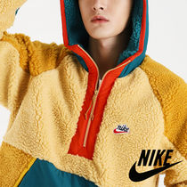 Nike AS M NSW HE HOODIE HZ WINTER ボア ハーフジップパーカー