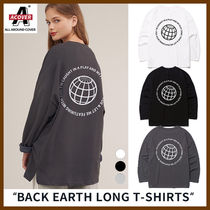 ACOVER(オコボ) Tシャツ・カットソー ◆ACOVER◆ BACK EARTH LONG T-SHIRTS 男女兼用