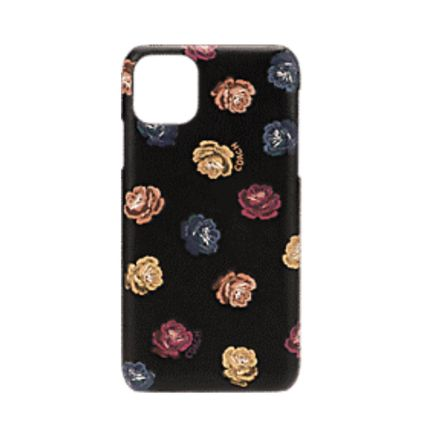 Coach スマホケース・テックアクセサリー COACH◎Printed Leather Slim Wrap Case iPhone 11/Pro/Pro Max