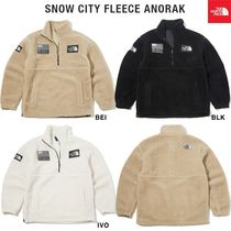 THE NORTH FACE ★ SNOW CITY FLEECE ANORAK ★3色
