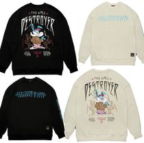 STIGMA☆RABBIT GANG OVERSIZED HEAVY SWEAT CREWNECK