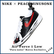 "【Nike×Peaceminusone】韓国限定 Air Force 1 Low ""Para-noise"""