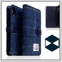 SLG Design★D5 Special Edition X Harris Tweed ★iPhoneケース