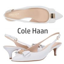 SALE『Cole Haan』Tali Bow Sling★ スリングバックWhite