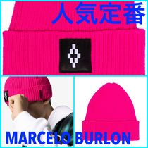 人気定番!MARCELO BURLON COUNTY OF MILAN ロゴ ビーニー