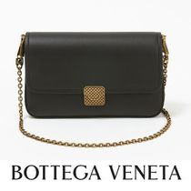 ☆BOTTEGA VENETA☆ CHAIN WALLET チェーンウォレット NERO♪