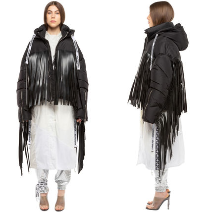 KJ025 KHRIS LEATHER FRINGES