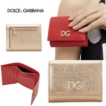【DOLCE&GABBANA】★SALE★ Small Wallet DAUPHINEカーフスキン