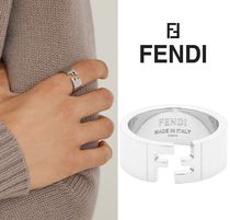 *FENDI*モノグラム リング Forever Fendi Silver-colored ring