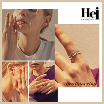 ◆HEI◆ TWO LINES RING (全2色) シルバーリング