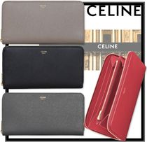 関税込/安全発送★CELINE★Large zipped wallet★