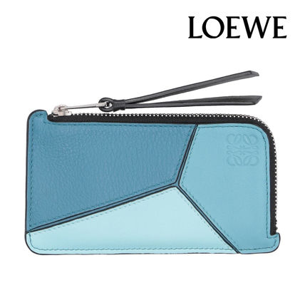 LOEWE☆【完売間近】CARD COIN CASE カード コインケース / blue