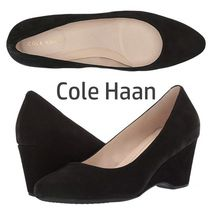 SALE『Cole Haan』The Go-To★ 60㎜ウェッジパンプス Black