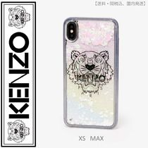 KENZO(ケンゾー)iPhone XS Max Tiger case ホワイト