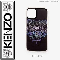 KENZO(ケンゾー)iPhone XI Pro Tiger case ブラック