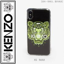 KENZO(ケンゾー)iPhone XS Max Tiger case  イエロー