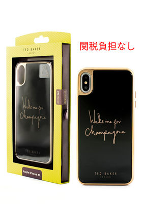 TED BAKER スマホケース・テックアクセサリー Champagne iPhone X/Xs/Xs Max & XR Case
