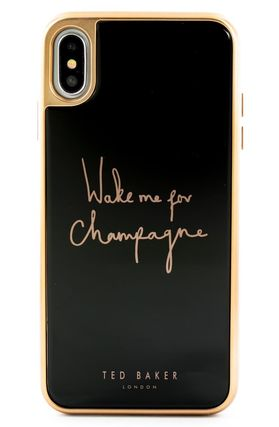 TED BAKER スマホケース・テックアクセサリー Champagne iPhone X/Xs/Xs Max & XR Case(3)