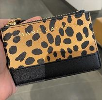 SALE! Marc Jacobs アニマルプリント ロゴ ミニ 財布 レオパード