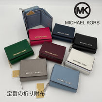 即発 Michael Kors★JET SET TRAVEL 3つ折り財布