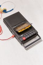 ☆日本未入荷 Retro Shoebox Cassette Tape Recorder USB Player