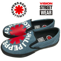 Vision Street Wear(ビジョン ストリート ウェア ) スニーカー Vision Street wear Slip-on x Red Hot Chili Peppers レッチリ