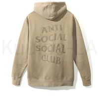 貴重!! ANTI SOCIAL SOCIAL CLUB Ghosted Sand Tonal パーカー