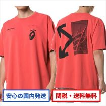 SPLITTED ARROWS S/S OVER TEE / Tシャツ /Off-White